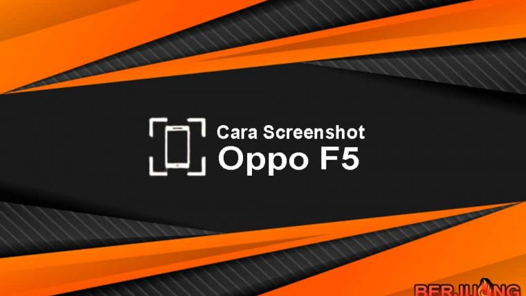 cara screenshot Oppo F5