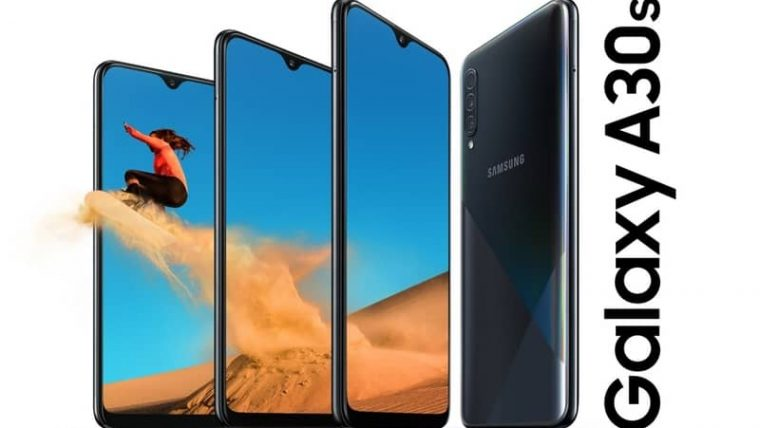 cara screenshot di Hp Samsung Galaxy A30s