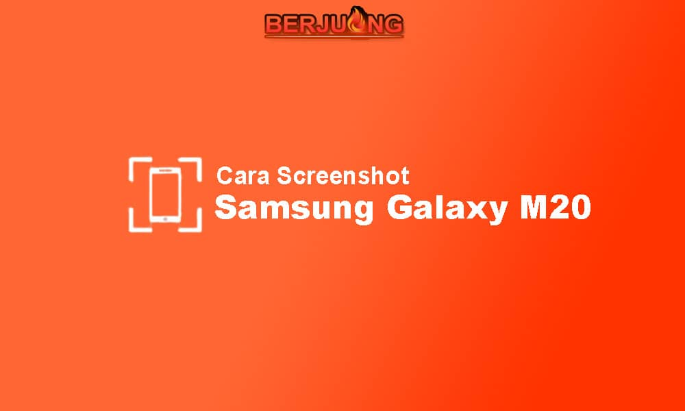 cara screenshot samsung m20