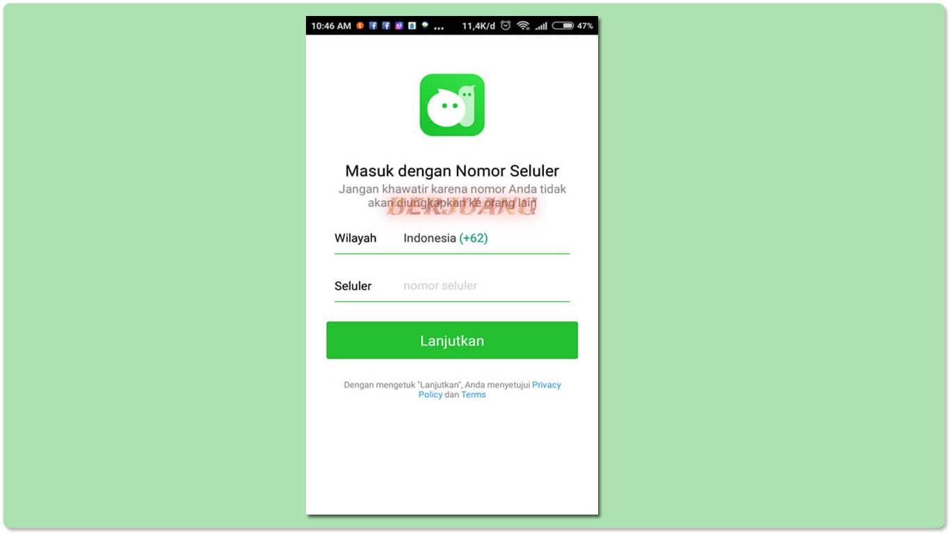 Daftar Akun MiChat
