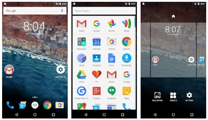 Marshmallow Launcher (Android)