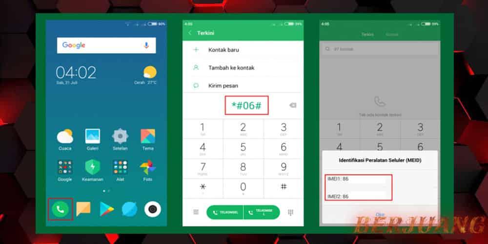 Cara Cek IMEI Xiaomi dengan Kode