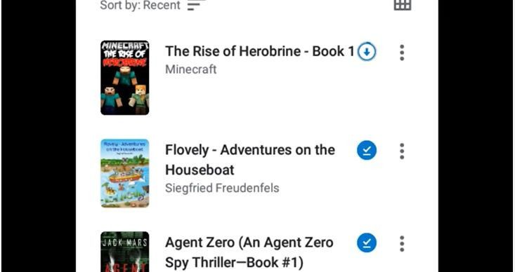 Cara Download Google Book di Android
