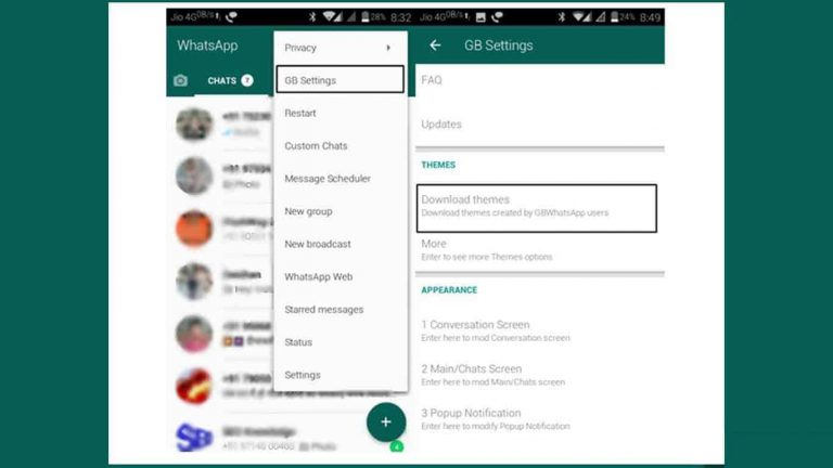 Aplikasi Tema Whatsapp modifikasi