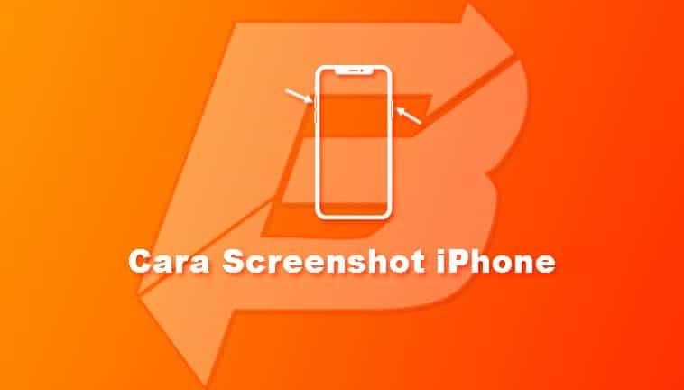 Cara Screenshot iPhone