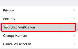 Fitur Two-Step Verification