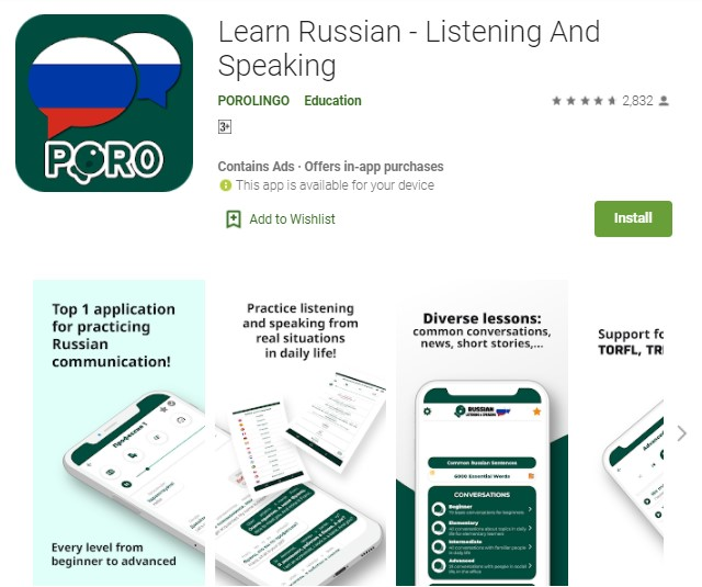 Learn Russian – Listening And Speaking